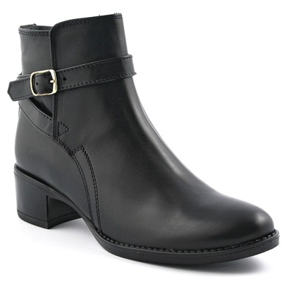 Jump - Bottines en cuir - noir