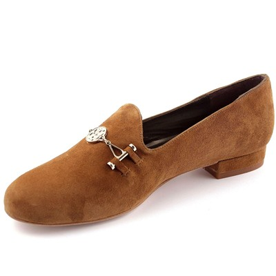 EXCLUSIF PARIS Preppy - Chaussures en cuir - caramel
