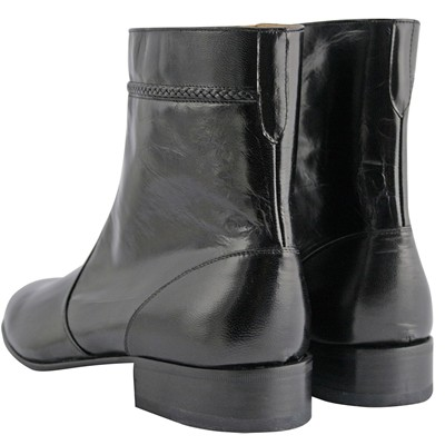 EXCLUSIF PARIS Bruce - Bottines en cuir - noir