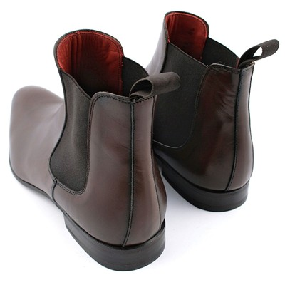 EXCLUSIF PARIS Fats - Boots en cuir - marron