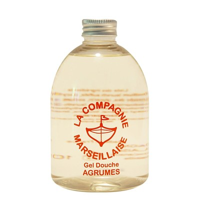 LA COMPAGNIE MARSEILLAISE Agrumes - Gel douche - orange