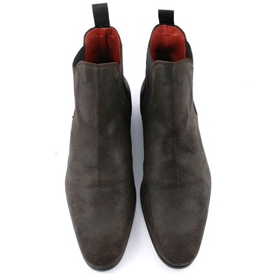 EXCLUSIF PARIS Zoom - Boots en cuir - marron