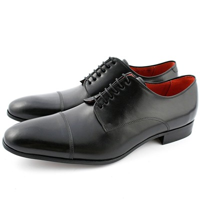 EXCLUSIF PARIS Bruno - Derbies en cuir - noir