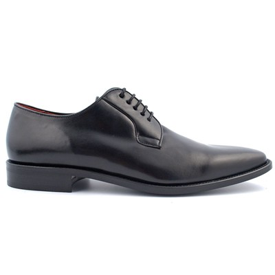 EXCLUSIF PARIS Jeremy - Derbies en cuir - noir
