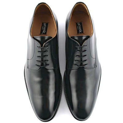 London - Derbies en cuir - noir