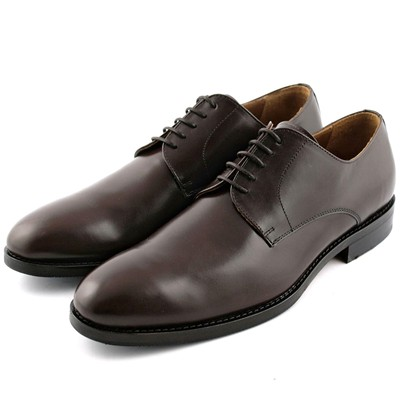London - Derbies en cuir - marron