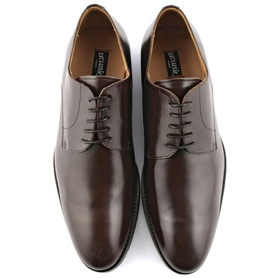 EXCLUSIF PARIS London - Derbies en cuir - marron