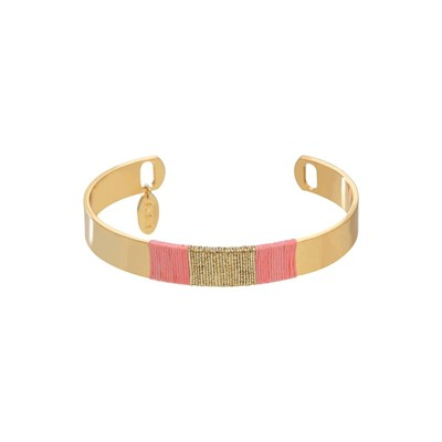 Sunset - Bracelet jonc - rose