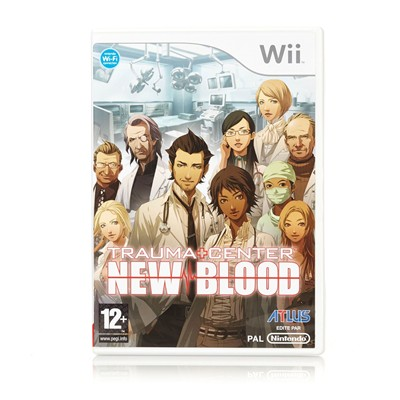 HIGH TECH Trauma Center New Blood pour Wii