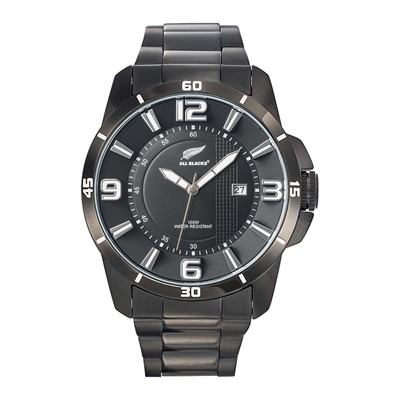 All Blacks all blacks - montre bracelet en métal - noir