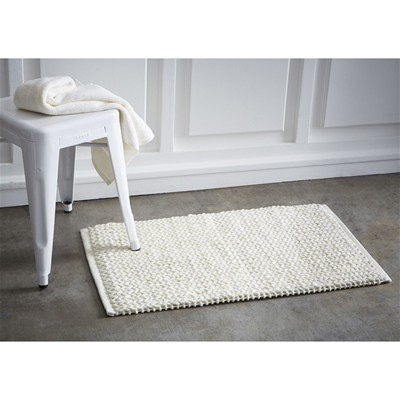 Chantilly - Tapis tressé - blanc