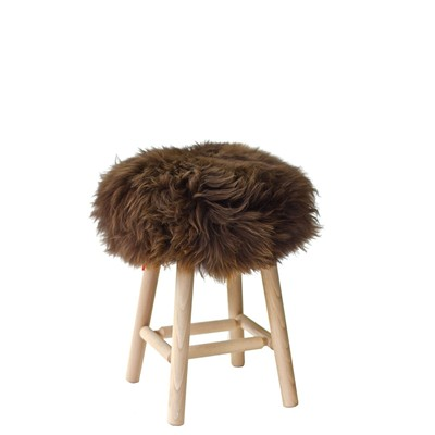 Fab Design tabouret - marron