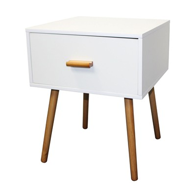Sixties - Petite table d'appoint - blanc
