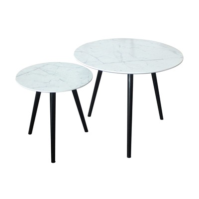 Empire - Lot de 2 tables gigognes