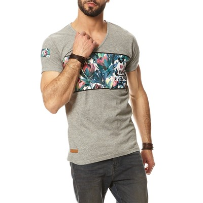 HOPE N LIFE Joxtrote - T-shirt - gris