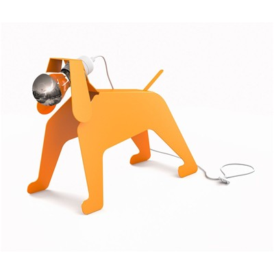 THOMAS DE LUSSAC Moondog - Lampe - orange