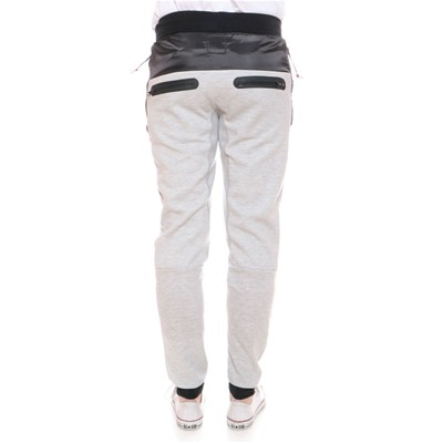Menfidish - Pantalon jogging - denim noir
