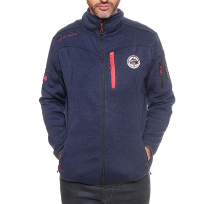 Geographical Norway Upstone - Sudadera polar - azul marino