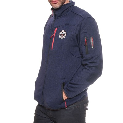 GEOGRAPHICAL NORWAY Upstone - Sweat polaire - bleu marine