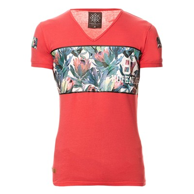 HOPE N LIFE Joxtrote - T-shirt - corail
