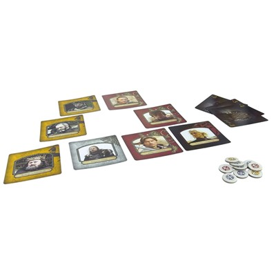 ASMODEE EDITIONS Games of Thrones - Intrigues à Westeros - multicolore