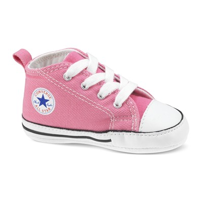 Converse Firt star hi - baby - baskets montantes - rose