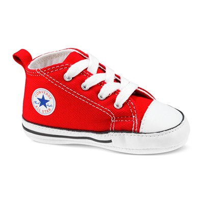 Converse Firt star hi - baby - baskets montantes - rouge