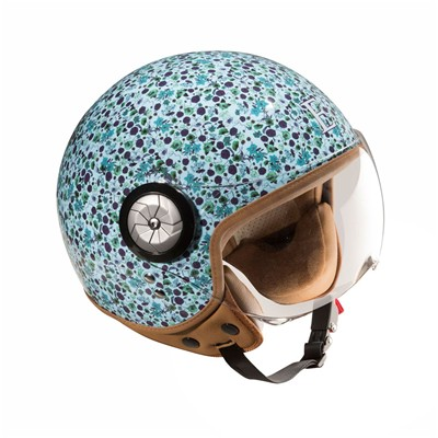 EXKLUSIV Liberty smart - Casque moto - bleu