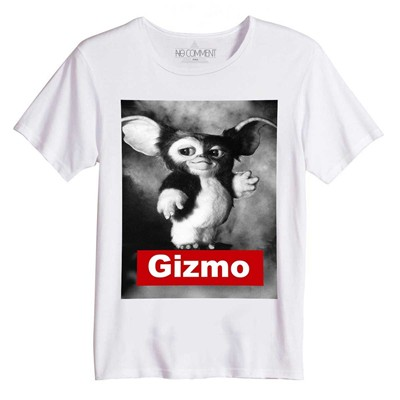 NO COMMENT PARIS Gizmo - T-shirt - blanc