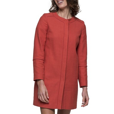 Trench And coat bissa - vestes - corail