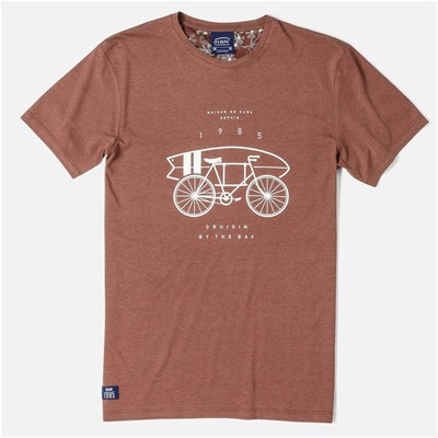 OXBOW Sauron - T-shirt - marron