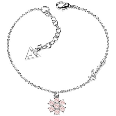 Guess Collier chaine - rose