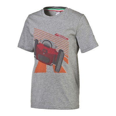 PUMA MOTORSPORT T-shirt - gris chine