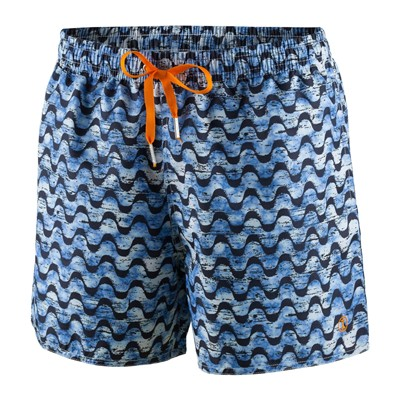 IMPETUS Waves - Short de bain - bleu marine