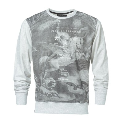 DEELUXE Costeno - Sweat-shirt - gris clair