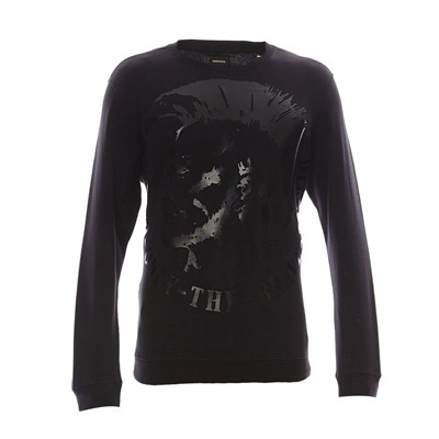 DIESEL Sweat-shirt - noir