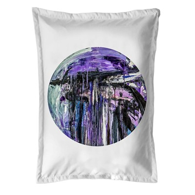 ARTPILO Abstraction - Coussin 380 g/m² - blanc
