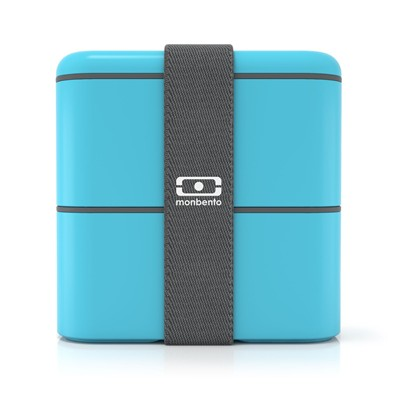 MONBENTO MB Square - Lunch Box - bleu ciel