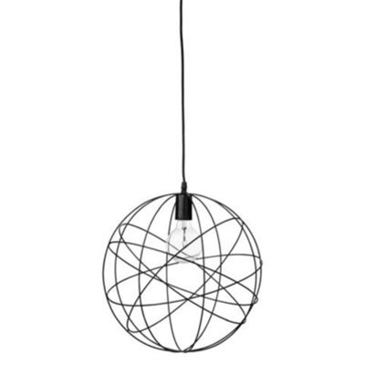 Lustre/suspension - noir