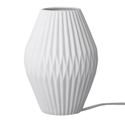 Lampe de table 18x25cm, 1.65m - blanc