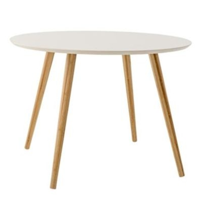 Table d'appoint 70x50cm - blanc