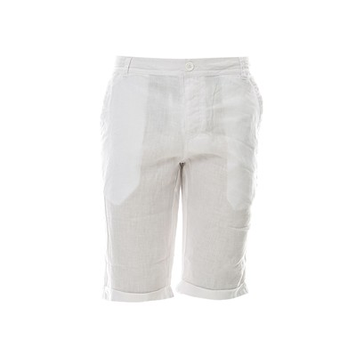 BEST MOUNTAIN Short en lin - blanc
