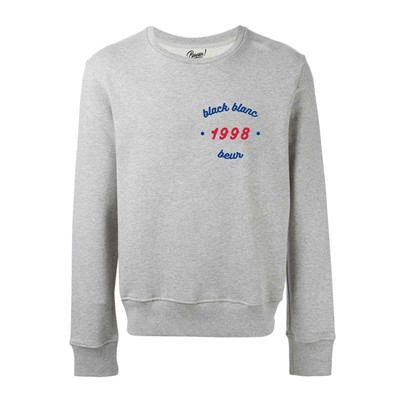 PANPAN PARIS Black Blanc Beur 1998 Paris - Sweat unisexe - gris chine