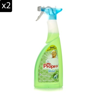 MR PROPRE New Zealand - Lot de 2 Mr Propre multi usage spray - 750 ml