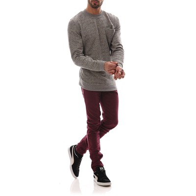 JACK & JONES Glenn Original - Jean slim - bordeaux