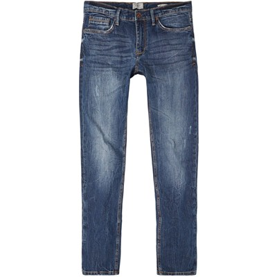 MANGO MAN Jean slim - denim bleu
