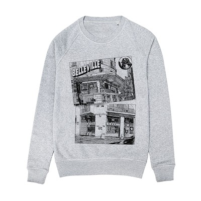 MONSIEUR POULET Sweat-shirt - gris chine