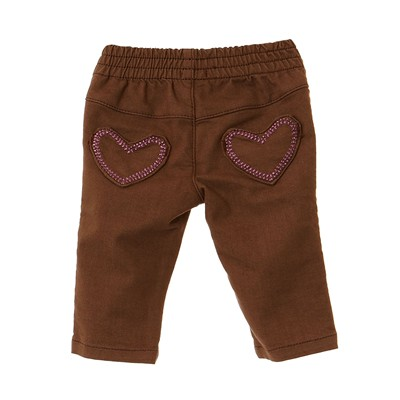 BENETTON Pantalon - marron clair