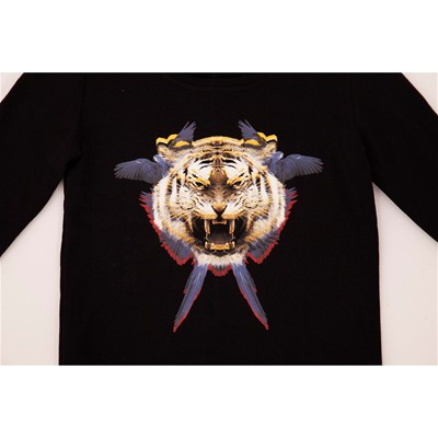 OVER Raph Tiger - Sweat-shirt - noir