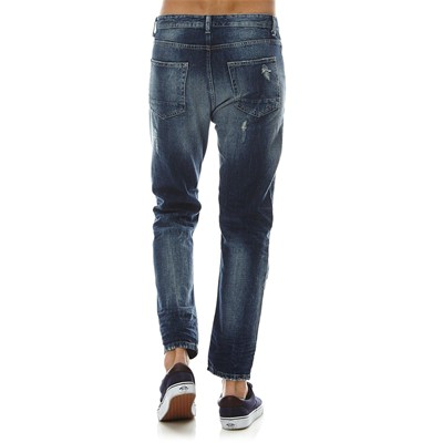 BENETTON Jean droit - denim bleu